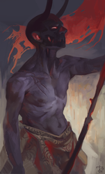 Another horned dude by deathnear