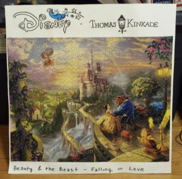 Beauty and the Beast - Falling in Love Puzzle by joshbluemacaw