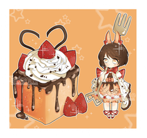 [CLOSED] Adopt #11: Strawberry Toast by Airimiu