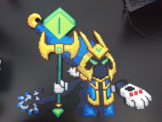 Final Boss Veigar from League of Legends by MagicPearls
