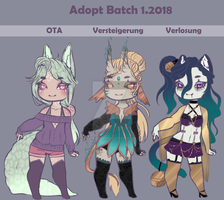 Adoptable Batch 1.2018 [2/3 open] by JamsinArtworks