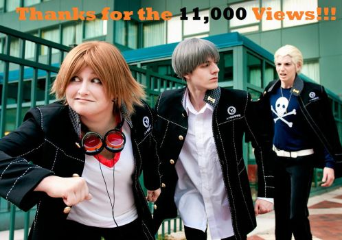 Persona 4 - THANKS FOR 11,000 Views!! by BLUEsteelProductions