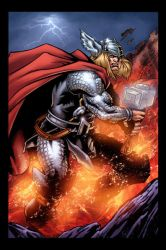 Thor Color by HillmanArts