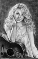 Taylor Swift in Pencil by mattmcmanis