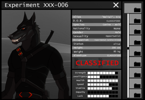Experiment XXX-006 Information by CXCR