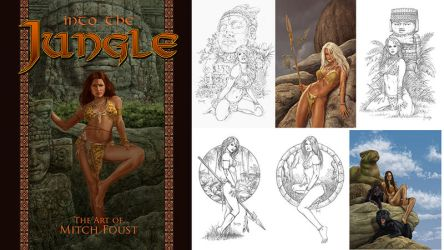 Into the Jungle Cover and images by MitchFoust