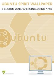 Ubuntu Spirit Wallpaper by LeMarquis