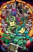 ...TMNT Pizza with everything on it... by thelearningcurv