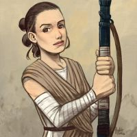 Daily Sketches Rey of Jakku by fedde