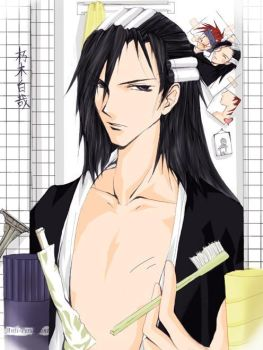 Byakuya - donotbotherme by bleach-party