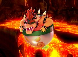 king bowser by roboba