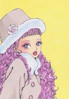 Miwako in winter look by ladymadge