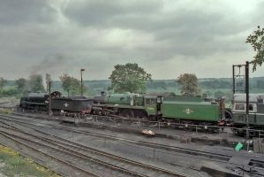 Early morning at Ropley by Brit31