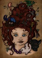 A forest of hair by EmiliAlys