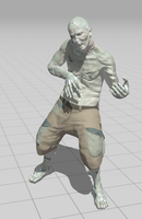 Zombie Air Guitar by photohooks