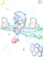 Sonic - Wind in your face by ClassicTeam