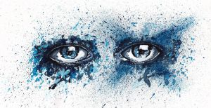 Eyes Blue by LiLaYpSi