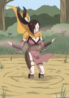 Kagero in Quicksand 02 by A-020