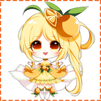 (CLOSED) Fruity Adoptable AUCTION - Orange by SawaiiDoll