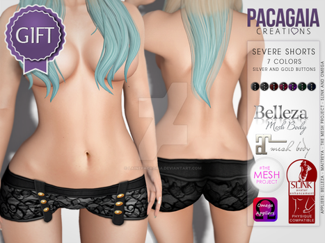 Severe Shorts (Gift) by LainePacagaia