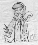Giantess Sketch - Trixie Tang Rampage #7 by Colonel-Gabbo