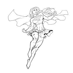 Super Girl by Mike Bowden by Pendecon