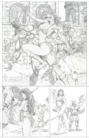 Red Sonja Page 1 by ScottJc