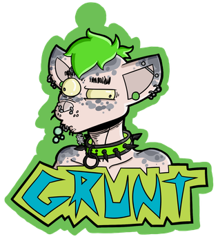 2K18 badge by flammingcorn