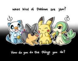 What Kind of Pokemon are You? by konoesuzumiya