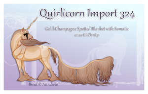 Quirlicorn Custom Import 324 by Astralseed