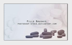 Pills Brushes by photoshop-stock