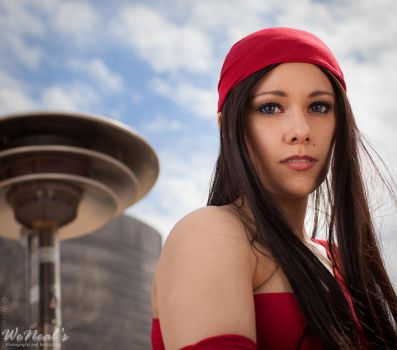 Elektra by SilverShadeCosplay