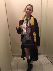 Gryffindor Student by REALMaximumRide