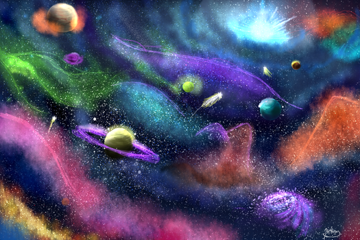 My Own Universe by VaneWorks
