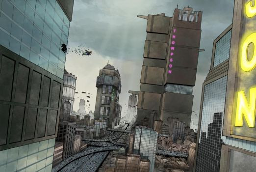 Mega City One by JZINGERMAN