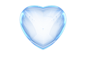Free Glass Heart by PaMonk