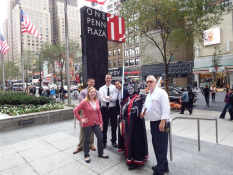 One Penn Plaza Management meets serious cosplay by LadyAmanita