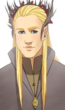 The Elven King Thranduil by Chloeeh