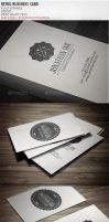 Vintage Business Card by vitalyvelygo