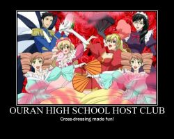 Ouran poster by hyper-yet-bored