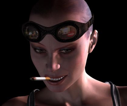 Tank Girl 3D 3 by RevAlleyCat