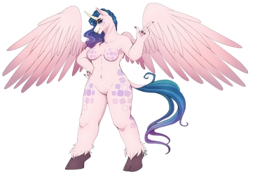 Adoptable Horse Furry | Open | by OcTentAya