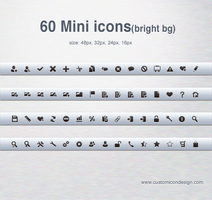 60 mini icon by customicondesign