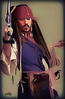 Jack Sparrow by gilly15