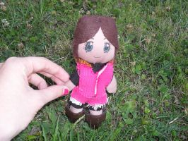 My Claire Redfield-plushie by Mlie-Redfield