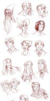 Random HP faces by roby-boh