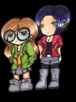 Daria and Jane by blackcattlc