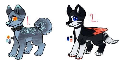 Dog Adoptables [ 1/2 OPEN ] by TangerineAdopts
