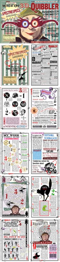 Quibbler Spectrespecs Replica Version with pages.