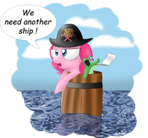 Pinkie Pie don't like barrels by Leibi97